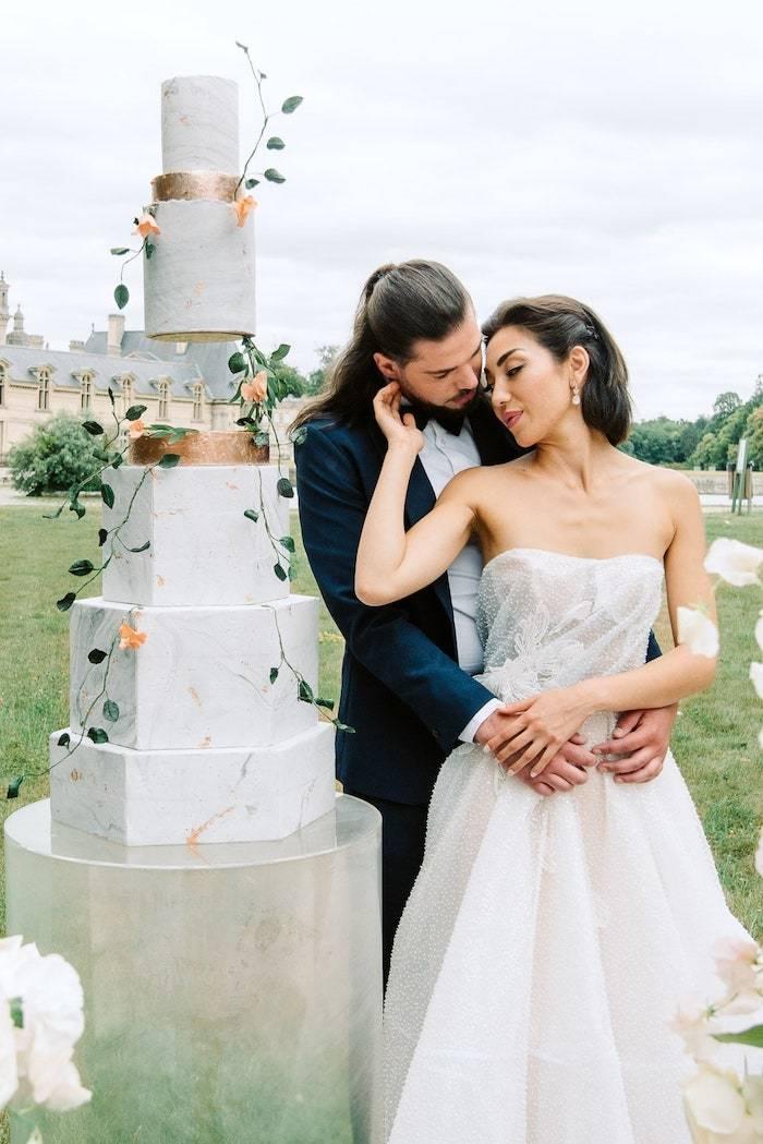 wedding couples photos chateau de chantilly france